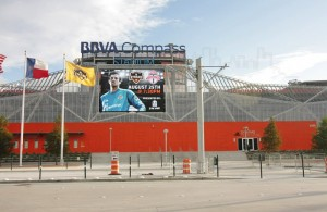 New BBVA Compass Stadium at East Downtown