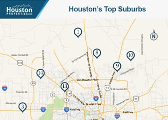 Top Ranked Houston Suburbs