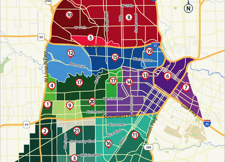 HoustonProperties: Interactive Map Of Houston Neighborhoods
