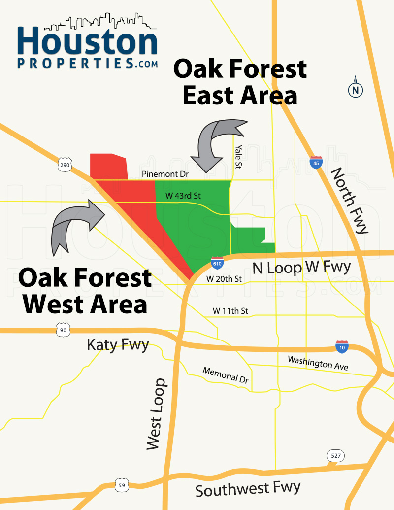 Houston Neighborhood Guide Oak Forest Homes For Sale Paige