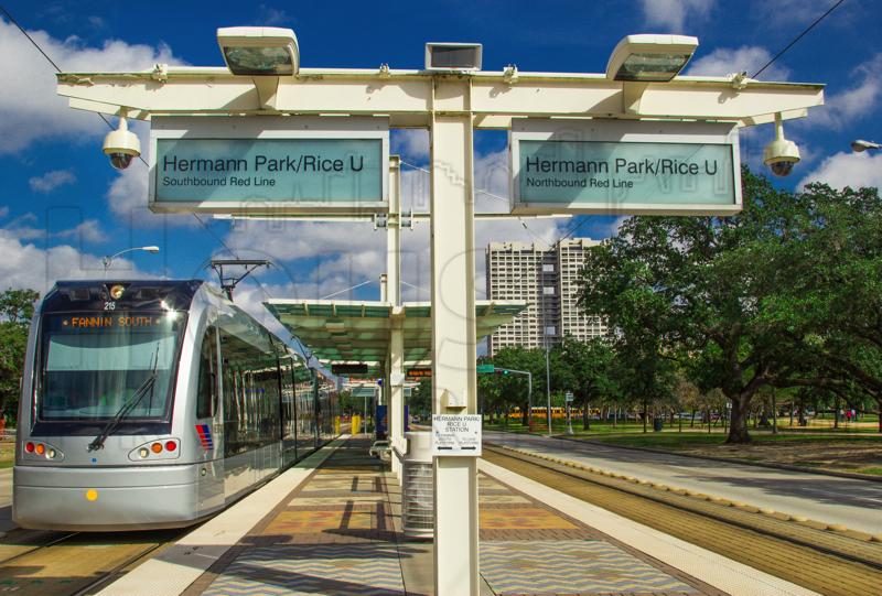 Museum District MetroRAIL